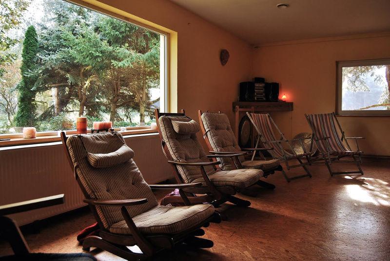 Sala na warsztaty z panoramicznym oknem