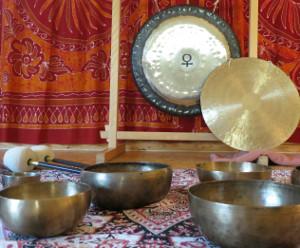 koncert mis gongi w Silnej Nowej