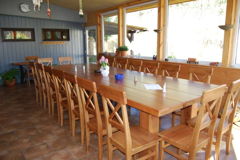 warsztaty dom pod lipa jadalnia stół