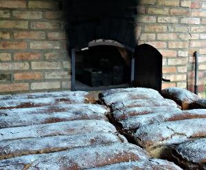 warsztaty pieczenia chleba w piecu chlebowym
