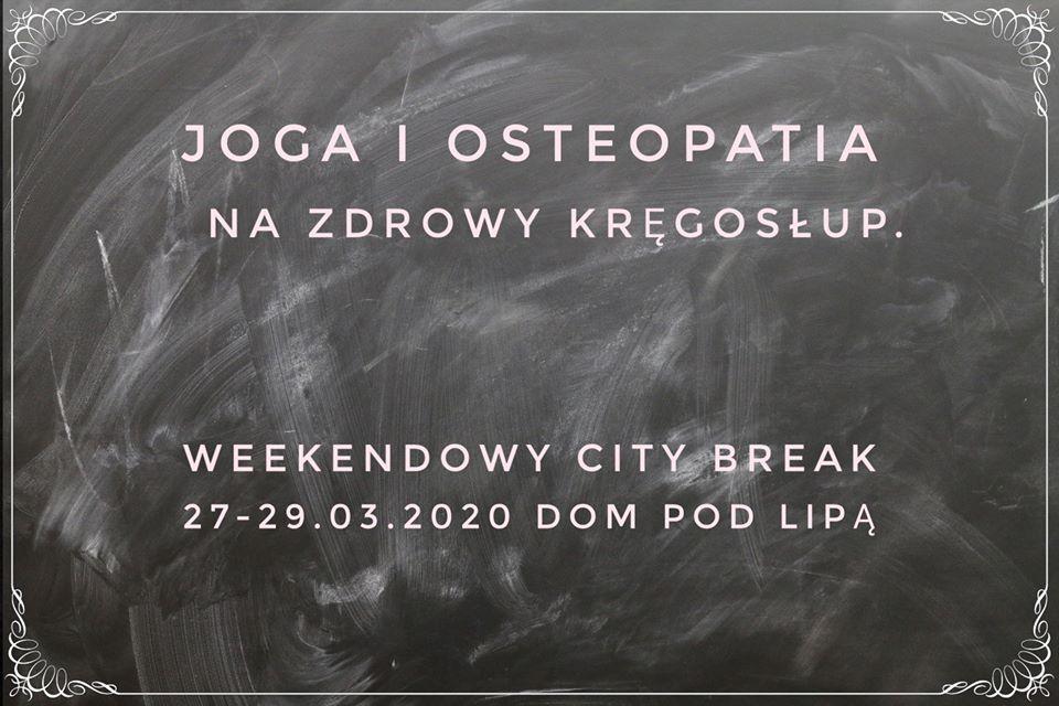 Joga i osteopatia 2020