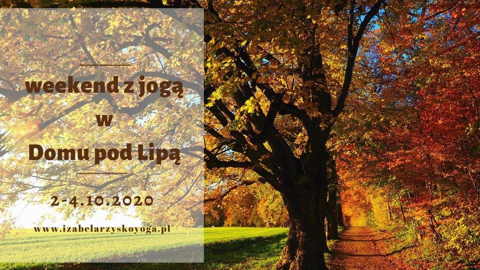 Jesienny weekend z jogą Iza Rzysko 2020