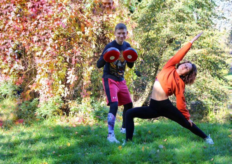 Siła spokoju obóz sportowy Obecność II