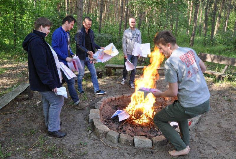 zajęcia przy ognisku