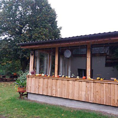 jadalnia w Domu pod Lipą jesienią