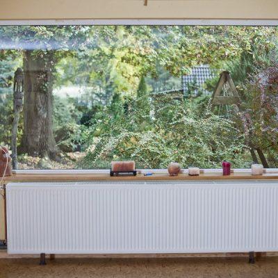 sala panoramiczne okno