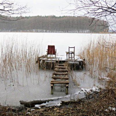 jezioro zimą, fot EBK