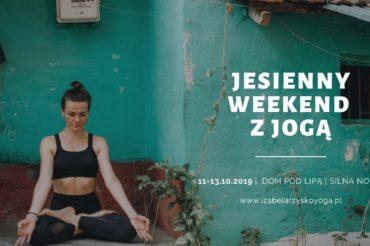 Jesienny weekend z jogą
