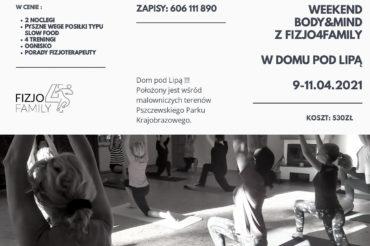 Weekend Body & Mind z Fizjo4Family