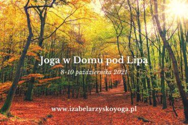 Październikowy weekend z jogą